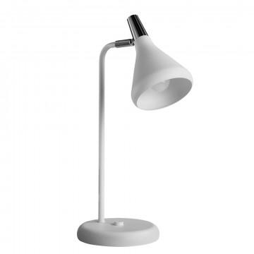 Настольная лампа Arte Lamp Ciclone A9154LT-1WH, 1xE14x40W, белый, металл