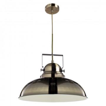 Подвесной светильник с регулировкой направления света Arte Lamp Martin A5213SP-1AB, 1xE27x75W, бронза, металл