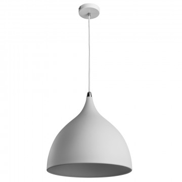 Подвесной светильник Arte Lamp Ciclone A9155SP-1WH, 1xE14x40W, белый, металл