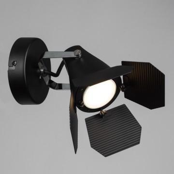 Потолочный светильник с регулировкой направления света Arte Lamp Cinema A3092AP-1BK, 1xGU10x50W, черный, металл