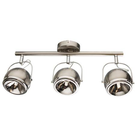 Потолочный светильник с регулировкой направления света Arte Lamp Orbiter A4509PL-3SS, 3xGU10x40W, серебро, хром, металл
