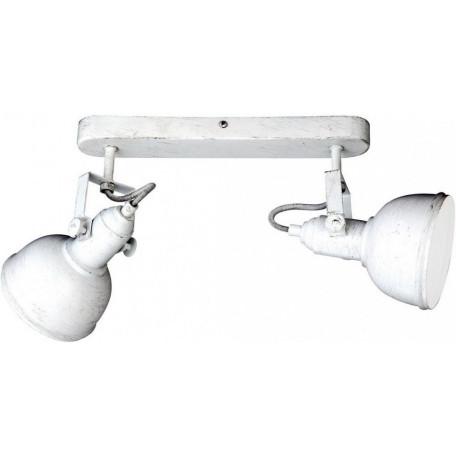 Потолочный светильник с регулировкой направления света Arte Lamp Martin A5213AP-2WG, 2xE14x40W, белый с золотой патиной, металл