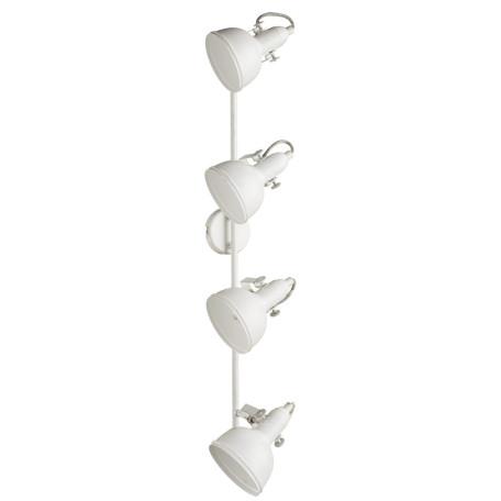 Потолочный светильник с регулировкой направления света Arte Lamp Martin A5215PL-4WG, 4xE14x40W, белый с золотой патиной, металл