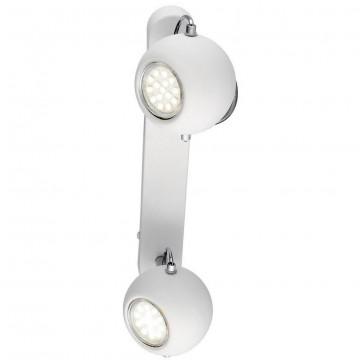 Потолочный светильник с регулировкой направления света Arte Lamp Spia A9128AP-2WH, 2xGU10x50W, белый, металл
