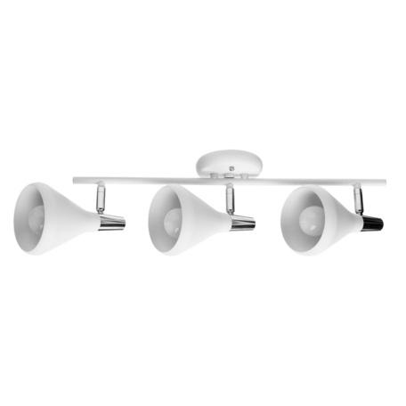 Потолочный светильник с регулировкой направления света Arte Lamp Ciclone A9154PL-3WH, 3xE14x40W, белый, металл
