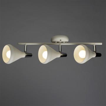 Потолочный светильник с регулировкой направления света Arte Lamp Ciclone A9154PL-3WH, 3xE14x40W, белый, металл - миниатюра 2