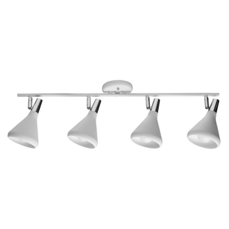 Потолочный светильник с регулировкой направления света Arte Lamp Ciclone A9154PL-4WH, 4xE14x40W, белый, металл