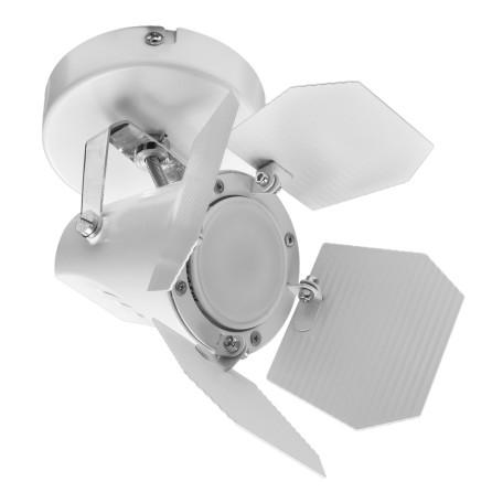 Потолочный светильник с регулировкой направления света Arte Lamp Cinema A3092AP-1WH, 1xGU10x50W, белый, металл