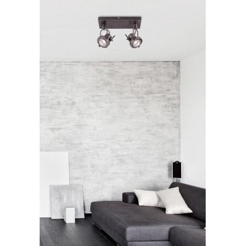 Потолочный светильник с регулировкой направления света Arte Lamp Costruttore A4300AP-2AB, 2xGU10x50W, бронза, металл - миниатюра 3
