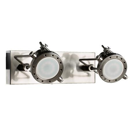 Потолочный светильник с регулировкой направления света Arte Lamp Costruttore A4300AP-2SS, 2xGU10x50W, серебро, металл