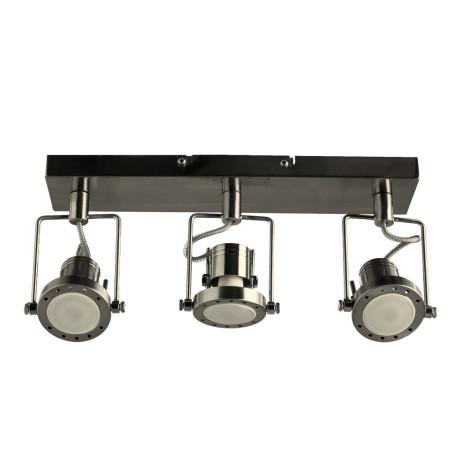 Потолочный светильник с регулировкой направления света Arte Lamp Costruttore A4300PL-3SS, 3xGU10x50W, серебро, металл
