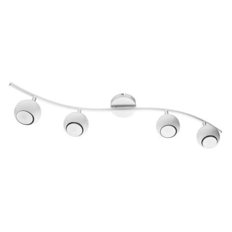 Потолочный светильник с регулировкой направления света Arte Lamp Piatto A6251PL-4WH, 4xGU10x50W, белый, металл - миниатюра 1