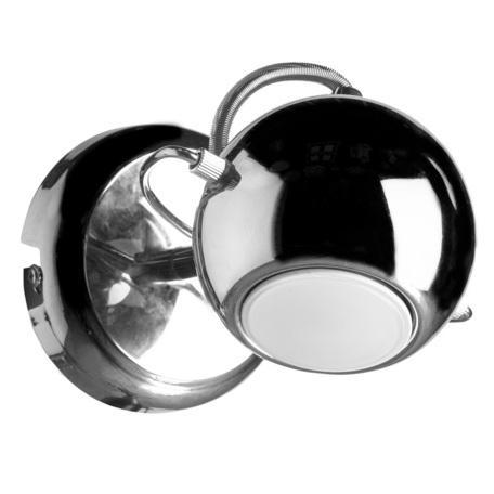 Потолочный светильник с регулировкой направления света Arte Lamp Spia A9128AP-1CC, 1xGU10x50W, хром, металл