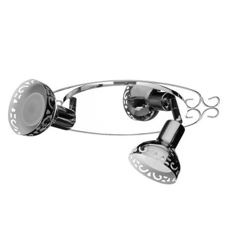 Спот Arte Lamp Focus A5219AP-2CC, 2xGU10x35W, хром, металл