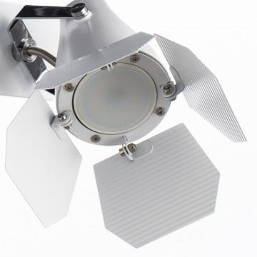 Потолочный светильник с регулировкой направления света Arte Lamp Cinema A3092AP-2WH, 2xGU10x50W, белый, металл - миниатюра 3