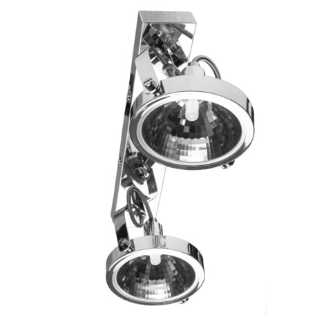 Потолочный светильник с регулировкой направления света Arte Lamp Alieno A4506PL-2CC, 2xG9x40W, хром, металл