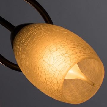 Потолочная люстра Arte Lamp Mutti A8616PL-3AB, 3xE14x40W, бронза, матовый, металл, стекло - миниатюра 3
