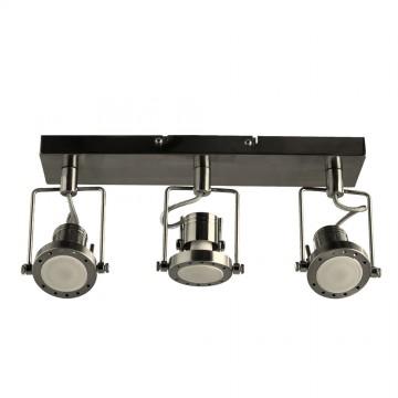 Потолочный светильник с регулировкой направления света Arte Lamp Costruttore A4300PL-3SS, 3xGU10x50W, серебро, металл - миниатюра 2