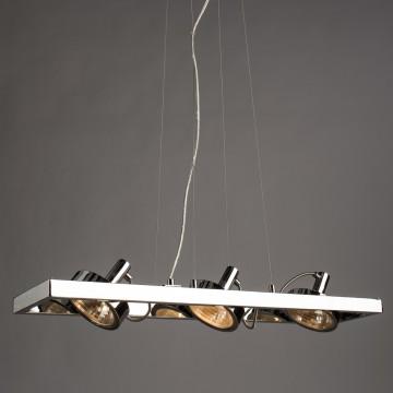 Подвесной светильник с регулировкой направления света Arte Lamp Faccia A4507SP-3CC, 3xG9x40W, хром, металл