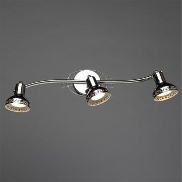 Спот Arte Lamp Focus A5219PL-3CC, 3xGU10x35W, хром, металл