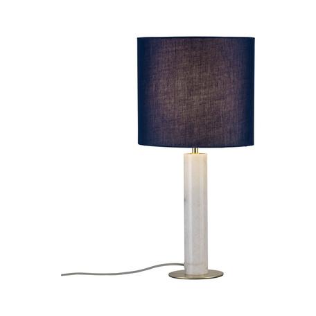 Настольная лампа Paulmann Neordic Olar 79731, 1xE27x20W, мрамор, текстиль