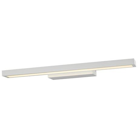 Настенный светодиодный светильник Wertmark Teck WE424.01.001, LED 7,68W 3000K, белый, металл