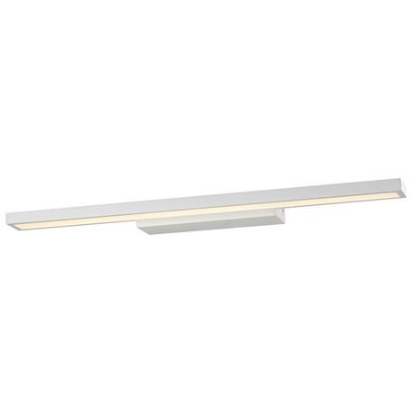 Настенный светодиодный светильник Wertmark Teck WE424.01.021, LED 11,52W 3000K, белый, металл