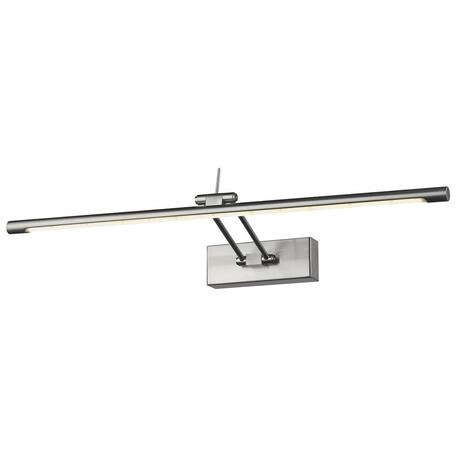 Настенный светодиодный светильник Wertmark Flores WE428.01.221, LED 11,52W 3000K, никель, металл