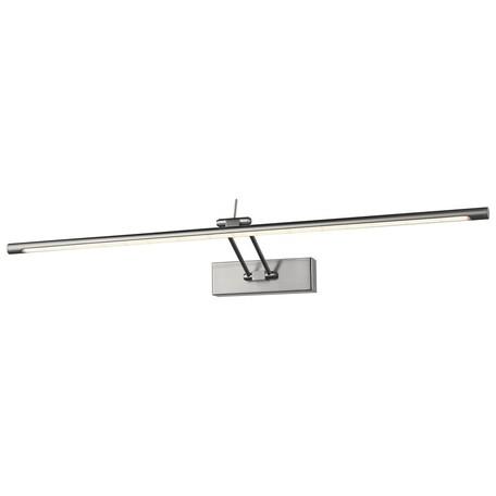 Настенный светодиодный светильник Wertmark Flores WE428.01.241, LED 15,36W 3000K, никель, металл