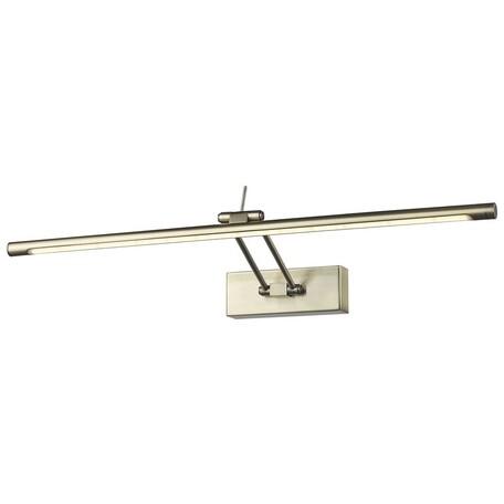 Настенный светодиодный светильник Wertmark Flores WE428.01.521, LED 11,52W 3000K, бронза, металл