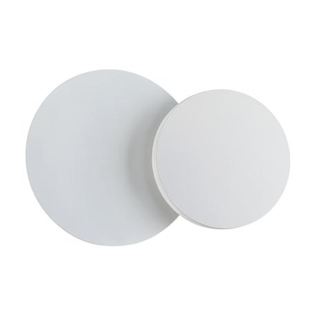 Настенный светодиодный светильник Novotech Over Smena 357856, LED 6W 3000K 380lm, белый, металл, пластик