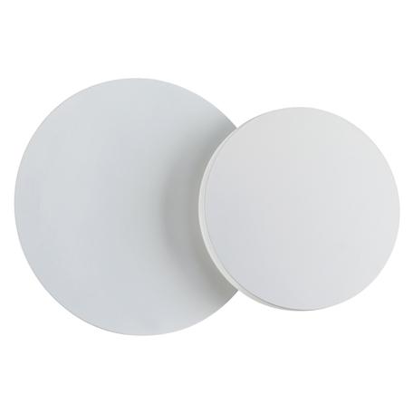 Настенный светодиодный светильник Novotech Over Smena 357857, LED 11W 3000K 940lm, белый, металл, пластик