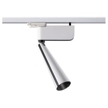 Светодиодный светильник для шинной системы Novotech Zeus 357863 3000K (теплый), белый, черный, металл