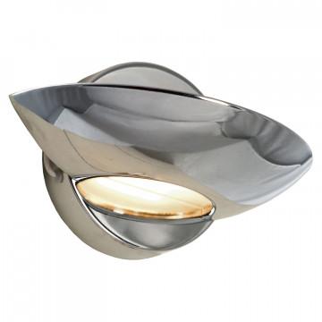 Настенный светодиодный светильник Lussole Loft Astro LSP-8331, IP21, LED 5W 4100K, хром, металл