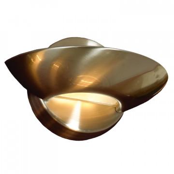 Настенный светодиодный светильник Lussole Loft Astro LSP-8333, IP21, LED 5W 4100K, никель, металл