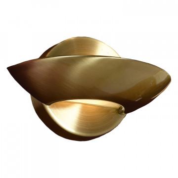 Настенный светодиодный светильник Lussole Loft Astro LSP-8335, IP21, LED 5W 4100K, бронза, металл