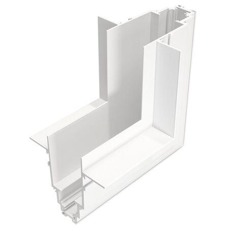 L-образный внутренний соединитель для треков Maytoni Magnetic track system TRA004ICL-22W, белый, металл