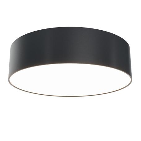 Светодиодный светильник Maytoni Zon C032CL-L32B3K, LED 32W 3000K 2700lm CRI80, черный с белым, металл, пластик
