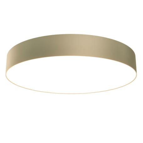 Светодиодный светильник Maytoni Zon C032CL-L48MG3K, LED 48W 3000K 3900lm CRI80, золото с белым, металл, пластик