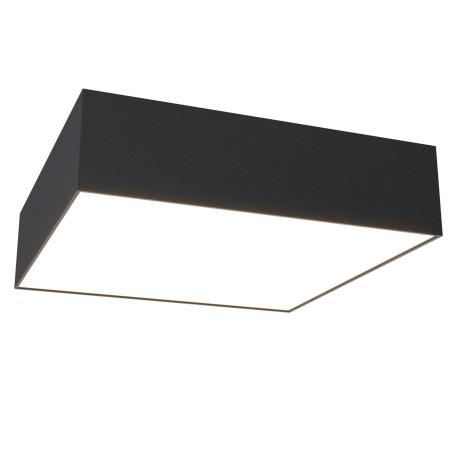 Светодиодный светильник Maytoni Zon C067CL-L27B3K, LED 27W 3000K 2300lm CRI80, черный с белым, металл, пластик