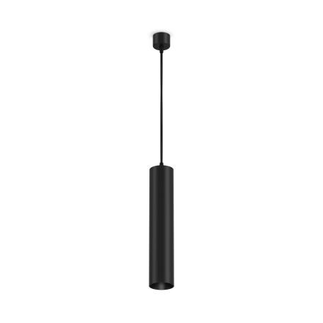 Светильник Maytoni Focus P075PL-01B, 1xGU10x50W, черный, металл