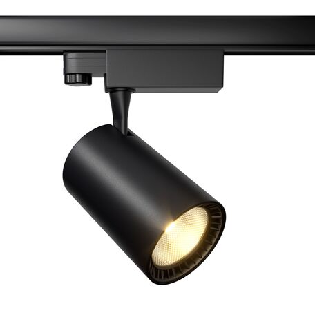 Светодиодный светильник Maytoni Vuoro TR029-3-30W4K-B, LED 30W 4000K 2400lm CRI80, черный, металл