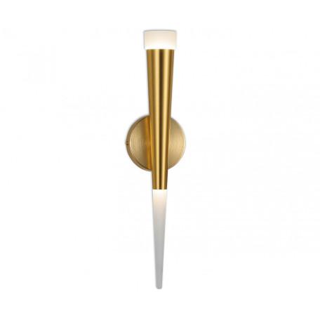 Светодиодное бра Kink Light Рэй 6114,33, LED 7W 4000K 630lm CRI>80, золото, металл, металл с пластиком