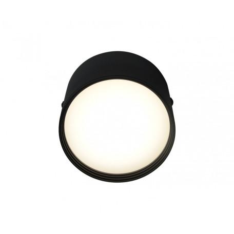 Потолочный светодиодный светильник Kink Light Медина 05410,19, IP40, LED 7W 4000K 560lm CRI>80, черный, металл с пластиком