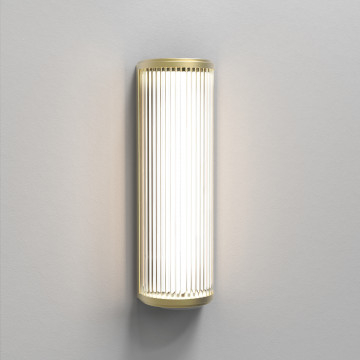 Настенный светодиодный светильник Astro Versailles 1380016 (8546), IP44, LED 7,2W 3000K 650lm CRI80, матовое золото, стекло