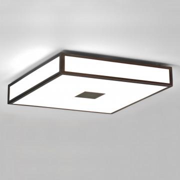 Потолочный светодиодный светильник Astro Mashiko LED 1121069 (8497), IP44 3000K (теплый), бронза, белый, металл, пластик