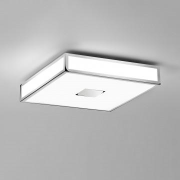 Потолочный светодиодный светильник Astro Mashiko LED 1121075, IP44, LED 31,2W 3000K 2438lm CRI80, хром, пластик