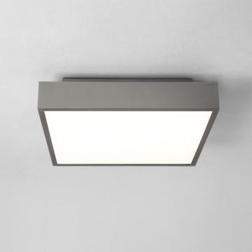 Потолочный светодиодный светильник Astro Taketa LED 1169015 (8530), IP44, LED 27,4W 3000K 2161lm CRI83, никель, металл, металл с пластиком, пластик