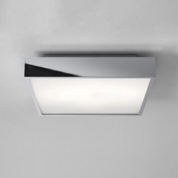 Потолочный светодиодный светильник Astro Taketa LED 1169018, IP44, LED 27,4W 3000K 2161lm CRI83, хром, металл, металл с пластиком, пластик
