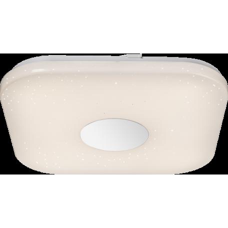 Потолочный светодиодный светильник Globo Felion 41332, LED 24W, белый, металл, пластик